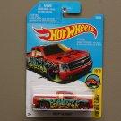Hot Wheels 2016 HW Art Cars Chevy Silverado (red)