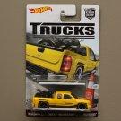 Hot Wheels 2016 Car Culture Trucks Chevy Silverado