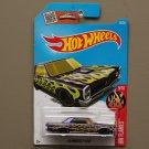 Hot Wheels 2016 HW Flames '65 Pontiac GTO (purple)