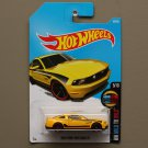 Hot Wheels 2016 HW Mild To Wild '10 Ford Mustang GT (yellow)