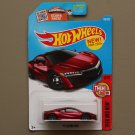 Hot Wheels 2016 Then And Now '17 Acura NSX (red) (SEE CONDITION)