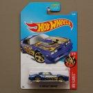 Hot Wheels 2017 HW Flames '77 Pontiac Firebird (blue)