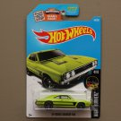 Hot Wheels 2016 Nightburnerz '69 Dodge Charger 500 (green)