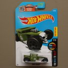 Hot Wheels 2016 HW Mild To Wild Bone Shaker (green)