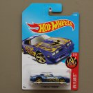 Hot Wheels 2017 HW Flames '77 Pontiac Firebird (blue)