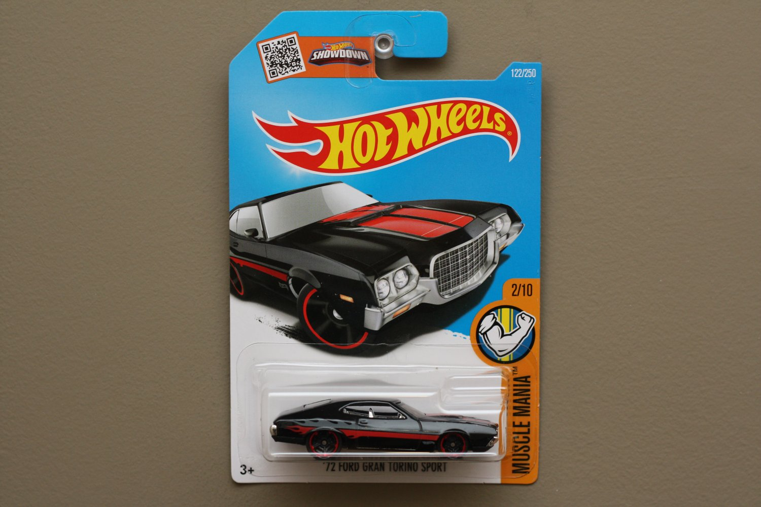 Hot Wheels 2016 Muscle Mania 72 Ford Gran Torino Sport