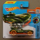 Hot Wheels 2016 Street Beasts Howlin' Heat (green) (Treasure Hunt)
