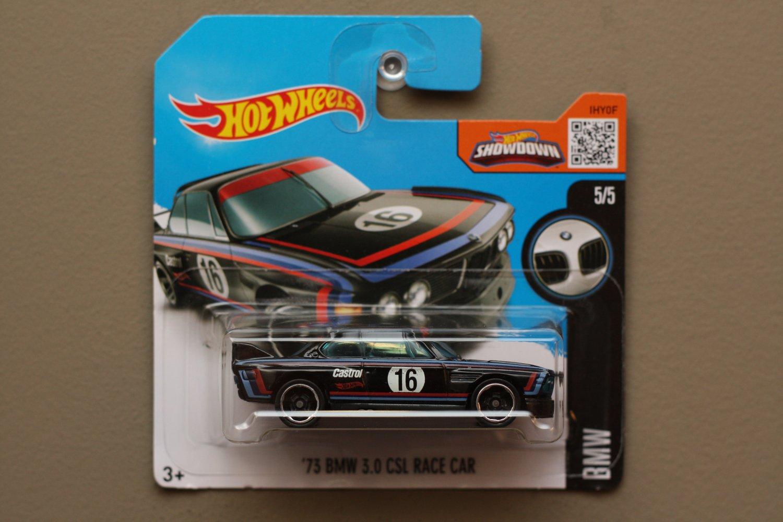 Hot Wheels 2016 BMW '73 BMW 3.0 CSL Race Car (black)