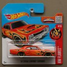 Hot Wheels 2016 HW Flames '69 Dodge Coronet Super Bee (orange)