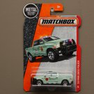 Matchbox 2016 MBX Heroic Rescue '15 Dodge RAM 1500 Police (light green)