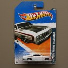 Hot Wheels 2011 Muscle Mania '69 Ford Torino Talladega (white) (SEE CONDITION)