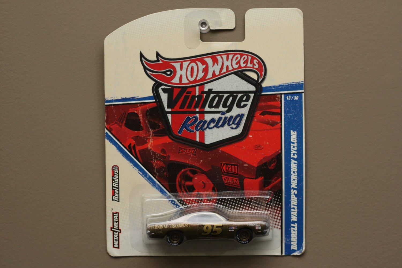 Hot Wheels 2011 Vintage Racing Darrell Waltrip's '70 Mercury Cyclone (SEE CONDITION)