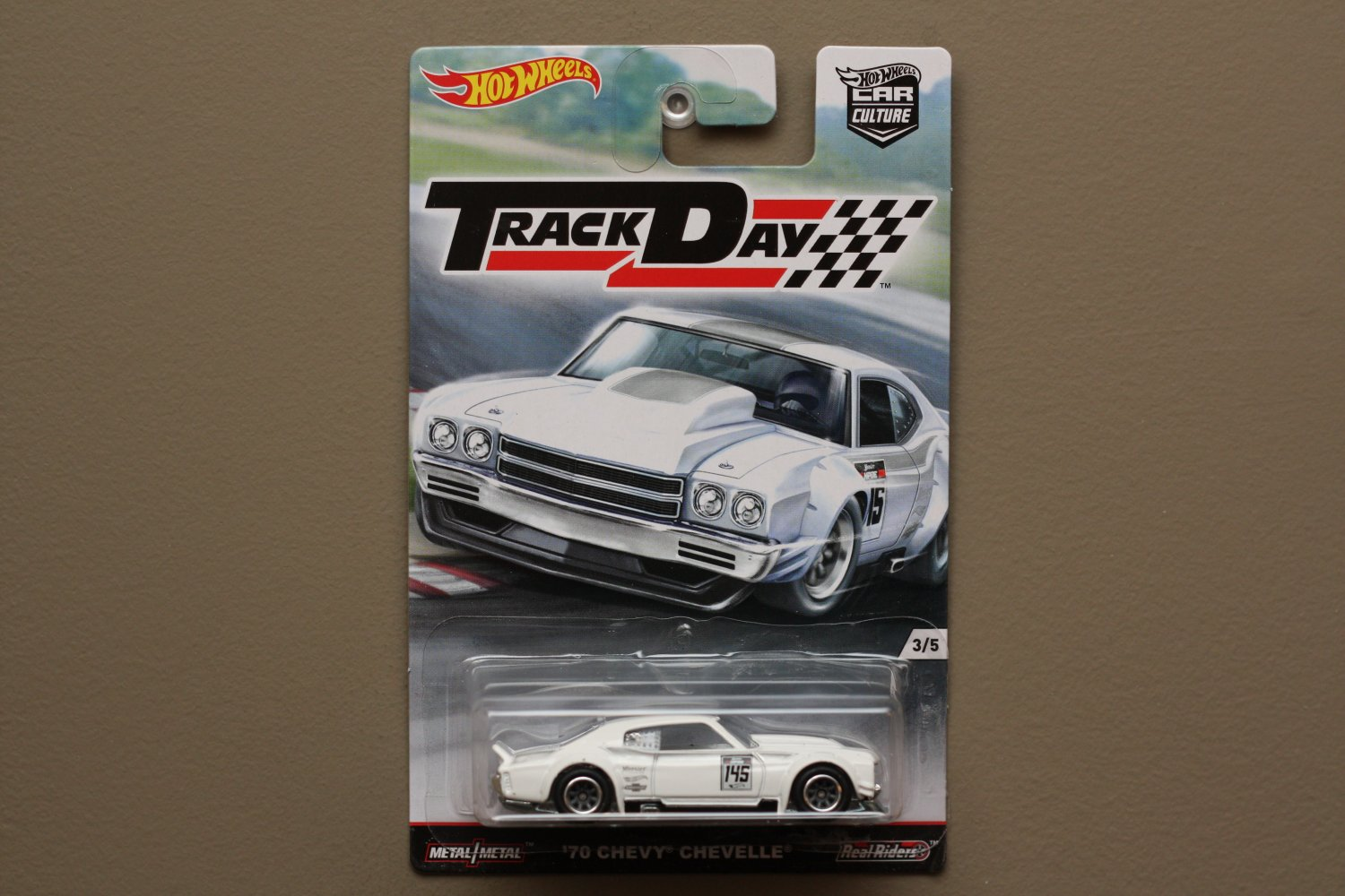 Hot Wheels 2016 Car Culture Track Day '70 Chevy Chevelle