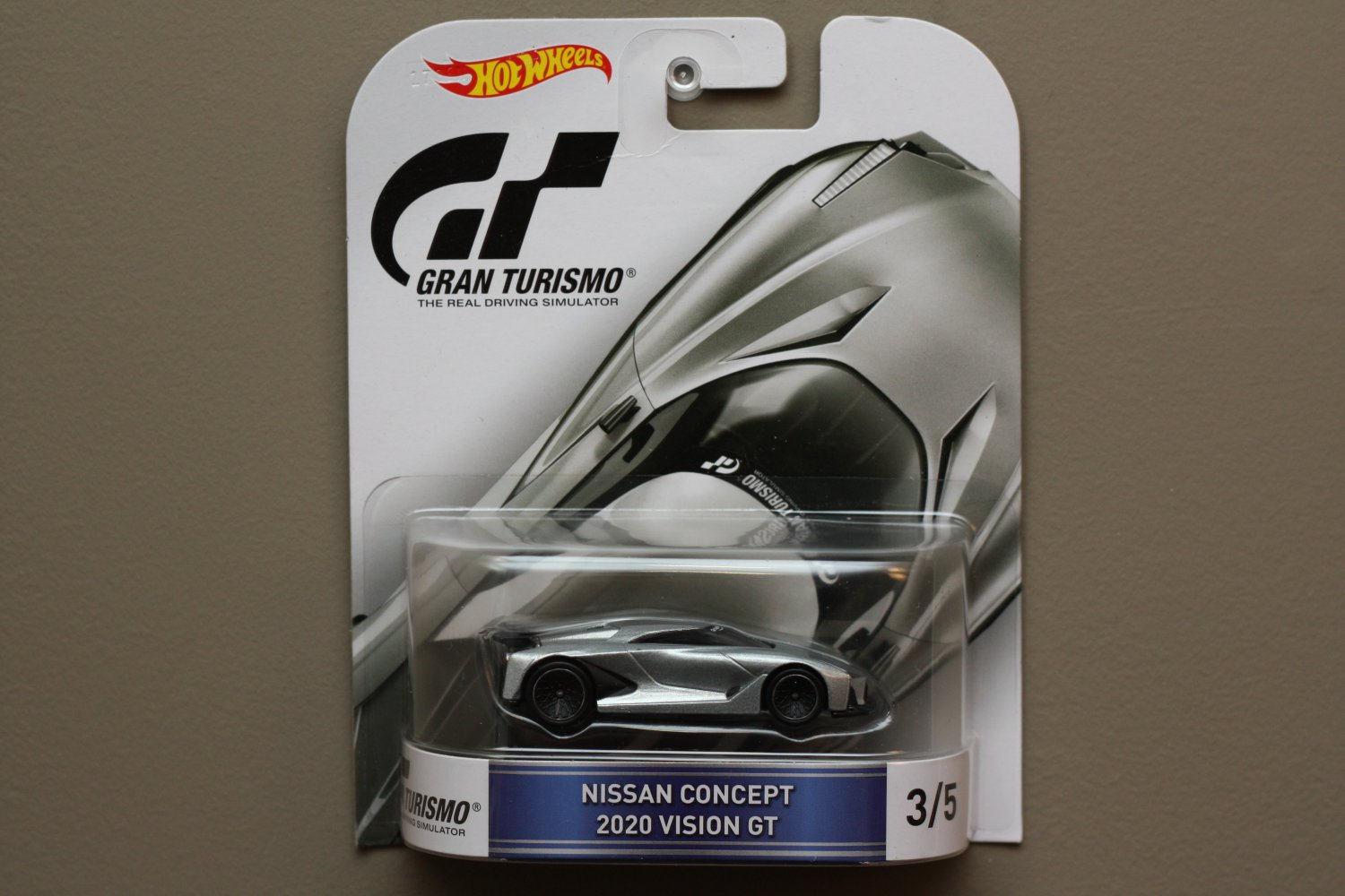 Hot Wheels 2016 Retro Entertainment Gran Turismo Nissan 2020 Vision GT Concept (SEE CONDITION)