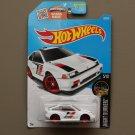Hot Wheels 2016 Nightburnerz '85 Honda CR-X (white) (SEE CONDITION)