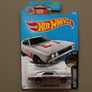 Hot Wheels 2016 Nightburnerz '69 Dodge Charger 500 (ZAMAC silver - Walmart Excl.) (SEE CONDITION)