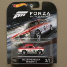 Hot Wheels 2016 Retro Entertainment Forza Motorsport Alfa Romeo Giulia Sprint GTA (#3 of 5)