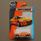 Matchbox 2016 MBX Adventure City '15 Jaguar F-Type Coupe (orange)