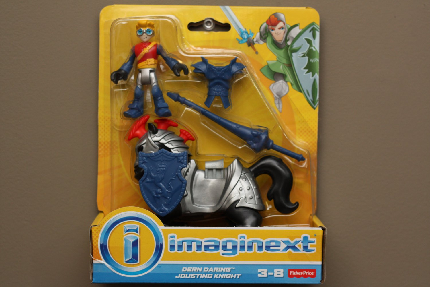 Fisher-Price Imaginext Dern Daring Jousting Knight Play Set