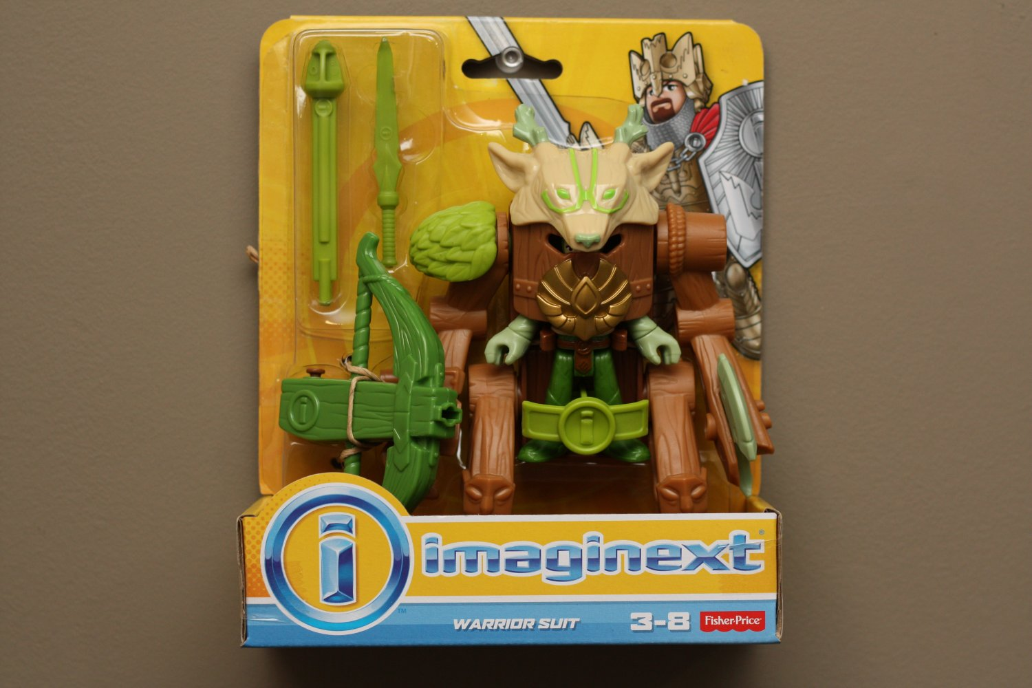 Fisher-Price Imaginext Warrior Suit Play Set