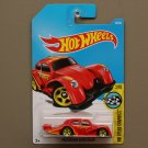 Hot Wheels 2017 HW Speed Graphics Volkswagen Kafer Racer (Beetle) (red)