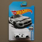Hot Wheels 2016 HW Showroom '15 Jaguar F-Type Project 7 (white - Kmart Excl.) (SEE CONDITION)