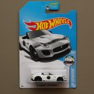 Hot Wheels 2016 HW Showroom '15 Jaguar F-Type Project 7 (white - Kmart Excl.)