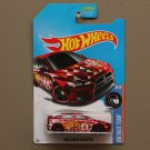 Hot Wheels 2016 HW Race Team '08 Mitsubishi Lancer Evolution (red - Kmart Excl.)