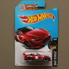 Hot Wheels 2016 Nightburnerz '15 Mazda MX-5 Miata (red) (SEE CONDITION)