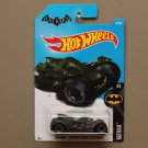 Hot Wheels 2017 Batman Arkham Knight Batmobile (dark green)