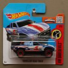 Hot Wheels 2016 HW Daredevils Toyota Off-Road Truck (blue)