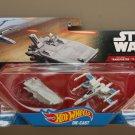 Hot Wheels 2016 Star Wars Ships 2-Pack First Order Transporter vs Resistance X-Wing Fighter