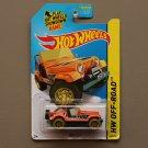 Hot Wheels 2015 HW Off-Road Jeep CJ-7 (orange) (Treasure Hunt) (SEE CONDITION)