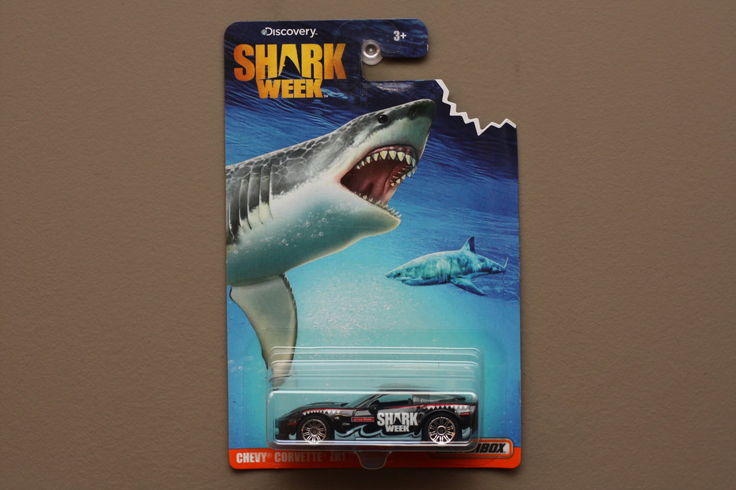 Matchbox 2016 Discovery Shark Week Chevy Corvette ZR1 (SEE CONDITION)