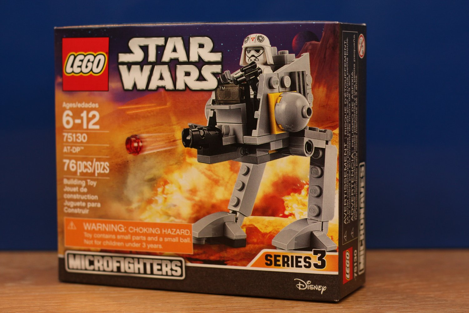 Lego Star Wars Microfighters Imperial AT-DP (75130)