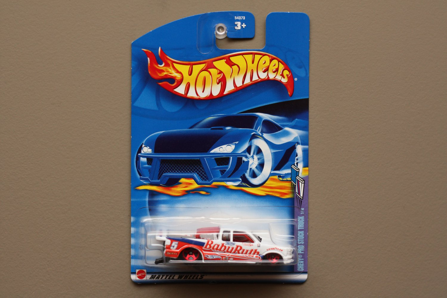 Hot Wheels 2002 Sweet Rides Series Chevy Pro Stock Truck (white)