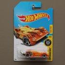 Hot Wheels 2017 Experimotors Tooligan (orange) (Treasure Hunt)