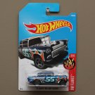 Hot Wheels 2017 HW Flames '55 Chevy Bel Air Gasser (blue)