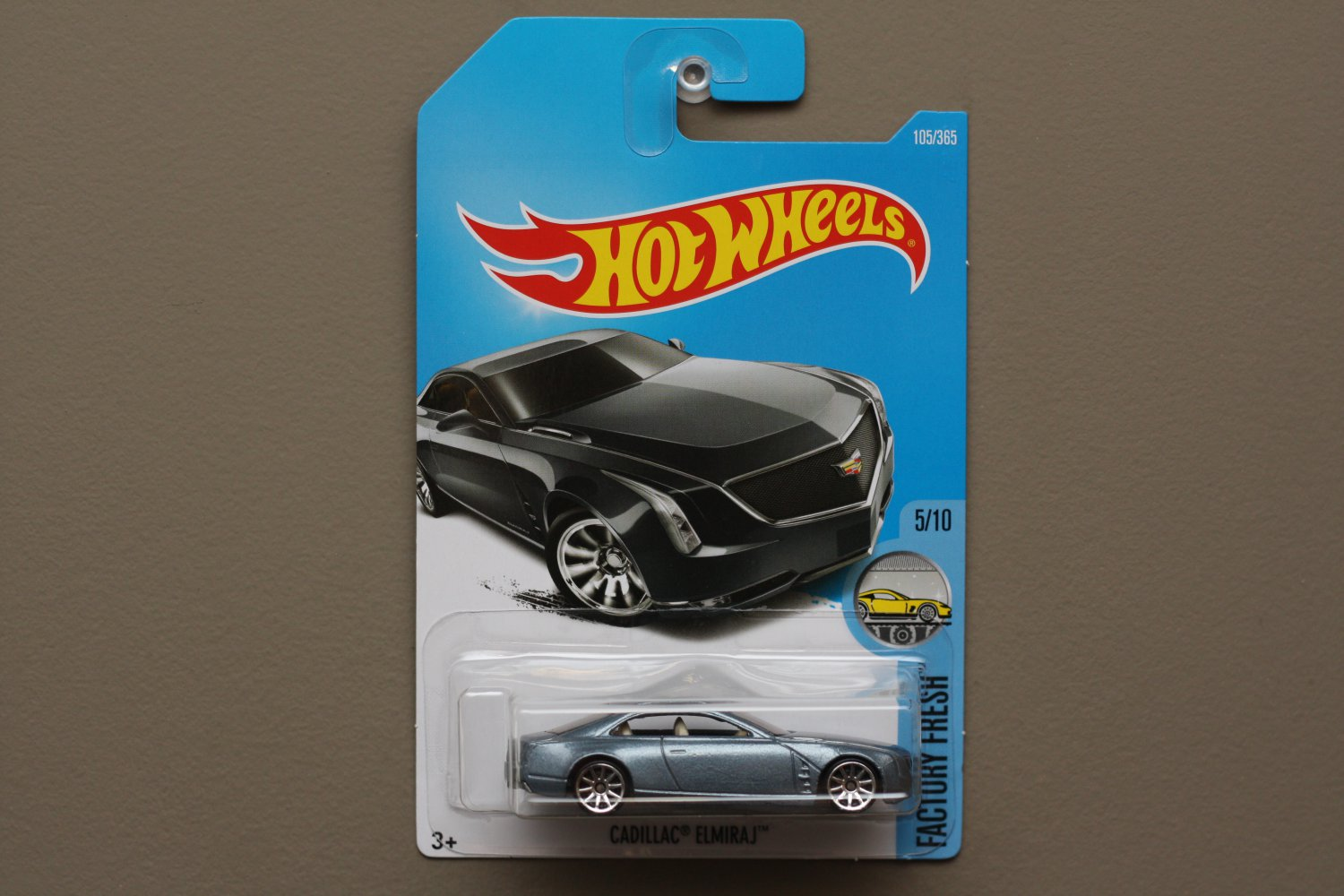 Cadillac Elmiraj Price In Usa >> Hot Wheels 2017 Factory Fresh Cadillac Elmiraj (grey)
