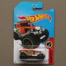 Hot Wheels 2017 HW Daredevils BAJA Bone Shaker (orange)