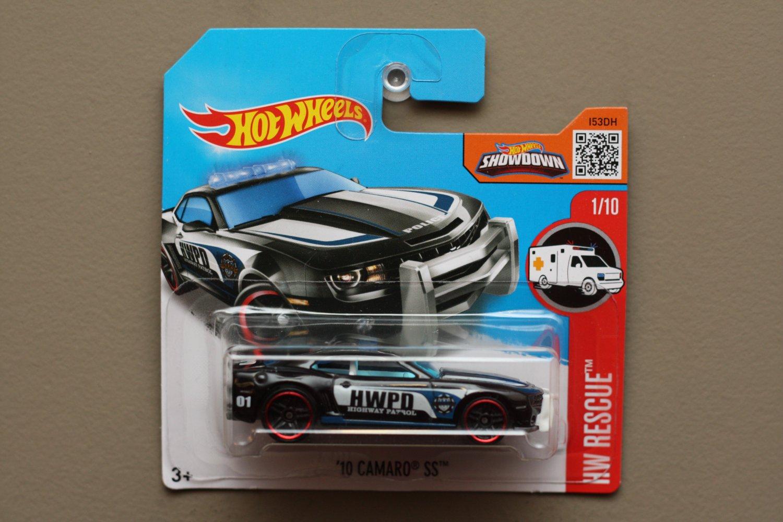 Hot Wheels 2016 HW Rescue '10 Camaro SS (black) (SEE CONDITION)