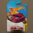 Hot Wheels 2017 HW Art Cars Volkswagen Golf MK7 (pink)