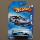 Hot Wheels 2009 HW Racing Corvette C6R (blue)
