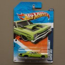 Hot Wheels 2011 Muscle Mania '69 Dodge Coronet Super Bee (lime green)