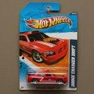 Hot Wheels 2011 HW Main Street Dodge Charger Drift (red)