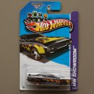Hot Wheels 2013 HW Showroom '71 Plymouth Road Runner (black) (SEE CONDITION)