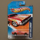 Hot Wheels 2011 HW Main Street Dixie Challenger (red) (SEE CONDITION)