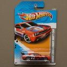 Hot Wheels 2012 HW Code Cars Dodge Challenger Drift Car (orange) (SEE CONDITION)