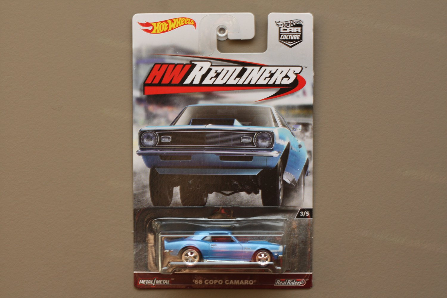 Hot Wheels 2017 Car Culture HW Redliners '68 COPO Camaro