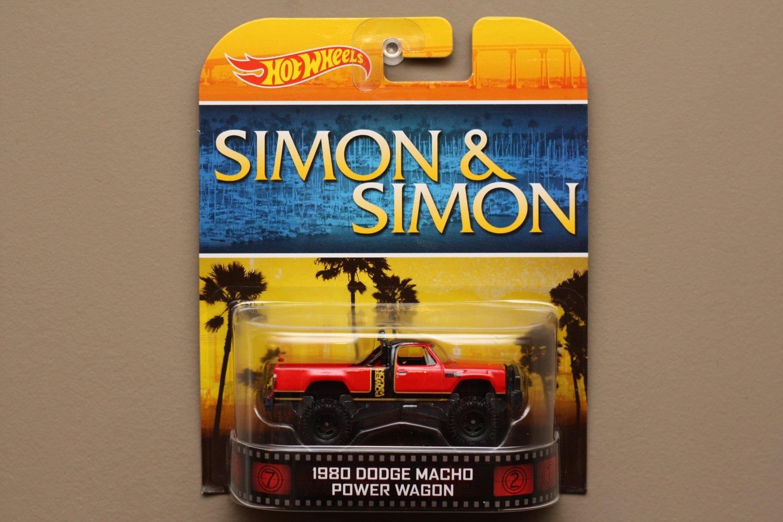 Hot Wheels 2014 Retro Entertainment '80 Dodge Macho Power Wagon (Simon & Simon)